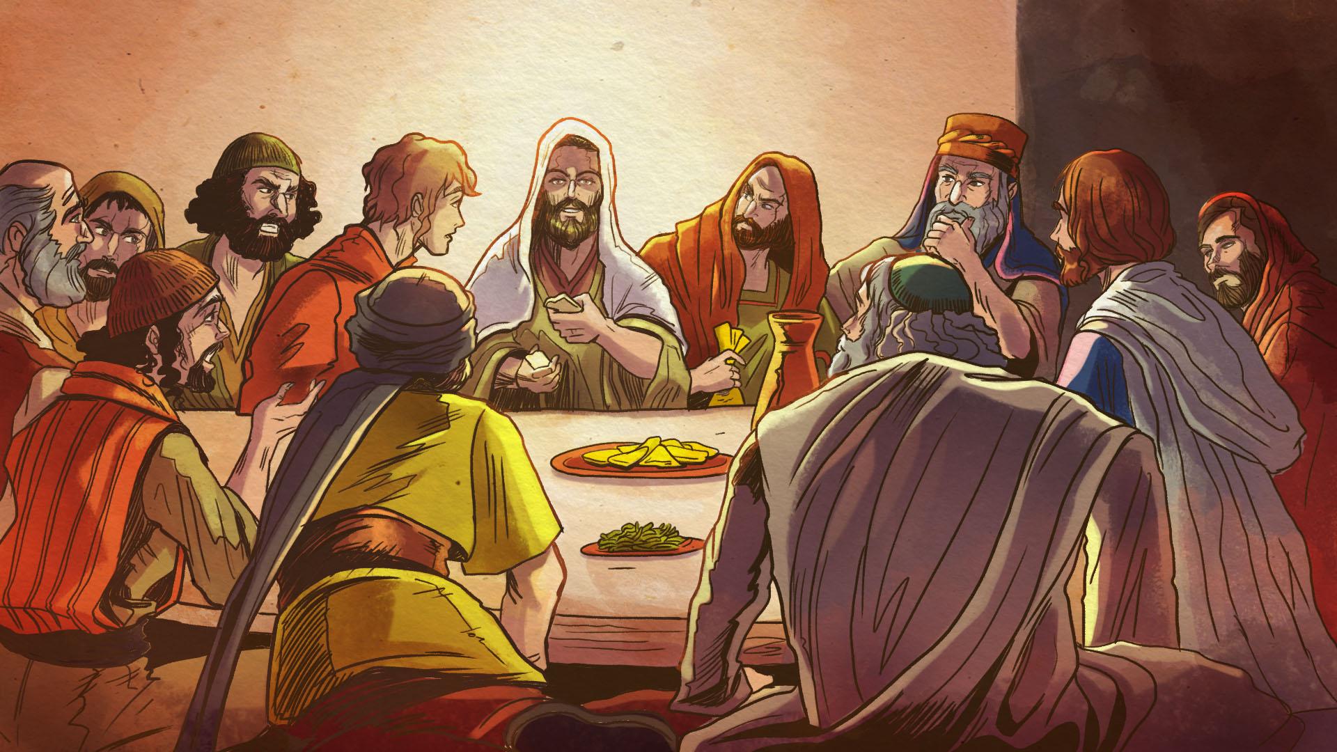 La historia detrás de la Última Cena